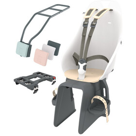 Urban Iki Child Seat For seat tube shinju white/kinako beige